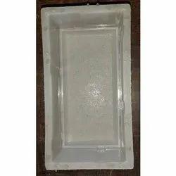 8 x 4 Inch Silicone Plastic Brick Mould