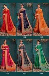Designer Top Dayed Saree