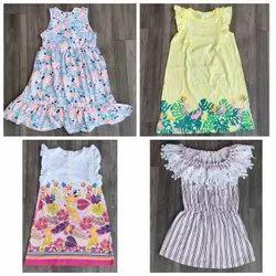 LYCRA JERSEY Frocks & Dresses Kids Girl Fancy Frock, Size: 24.0, Age Group: 1-8 Yrs