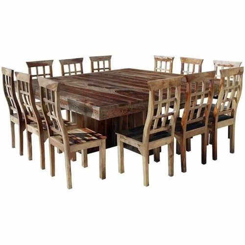 Furniture Boutiq Nevada Large Square Dining Room Table And Chair Set For 12 Wooden Dining Set Wooden Dining Room Set À¤²à¤•à¤¡ À¤• À¤¡ À¤‡à¤¨ À¤— À¤® À¤œ À¤• À¤¸ À¤Ÿ À¤µ À¤¡à¤¨ À¤¡ À¤‡à¤¨ À¤— À¤Ÿ À¤¬à¤² À¤¸ À¤Ÿ Zara