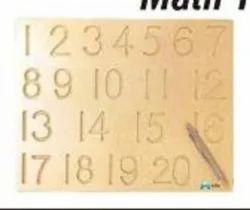 Math Tracing Board