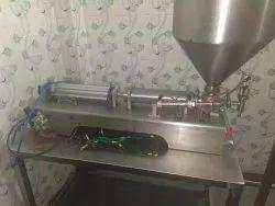 Pneumatic Single Head Filler Machine