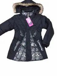 Ladies Printed Hooded Jacket