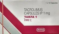 1 Mg Tacrolimus Capsules IP