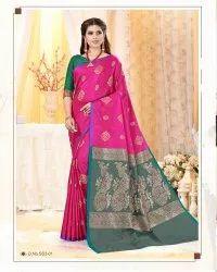 Dazzling Art Silk Saree