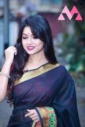 Weaving Jacquard Silk Saree