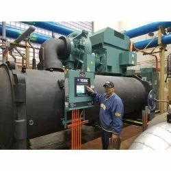 Mild Steel Chiller HVAC Plants, For Industrial Use, Capacity: 1000 Ton