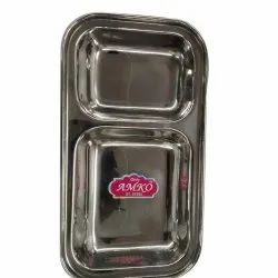 2 in 1 Compartment Plate