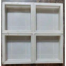 4X4 Inch Dabbi Plastic Tile Mould