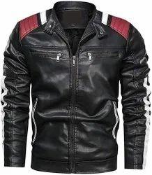 Men Black Riding Jacket