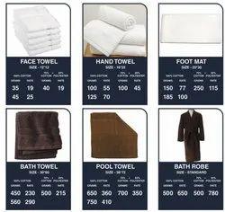 Cotton Plain Bath Towel, For Home, Size: 33'60