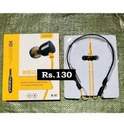 Wireless Black Realme R2 Neckband Headphone