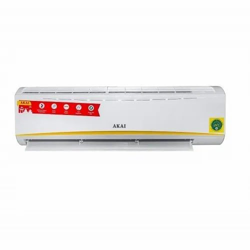 Akai 1.5 Ton 3 Star Inverter Split AC AKSI-183GQA, Copper Condenser