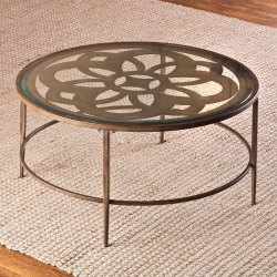 Round Steel Table