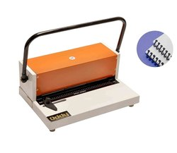 Manual Spiral Binding Machine, 15 Pages At One Time