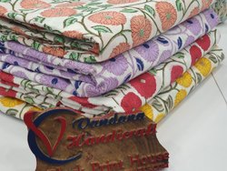 Cotton Fabric, Digital Prints, Multicolour