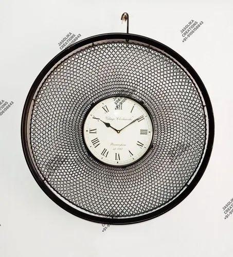 Jasolika Creations Og Iron, Big Round Clock