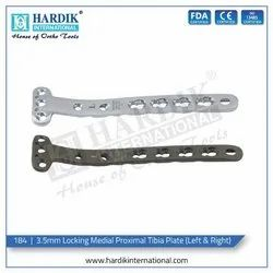 Locking Medial Proximal Tibia Plate 3.5mm (Left & Right)