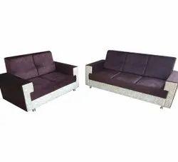 Ronak Sofaset Modern 5 Seater Wooden Sofa Set, Living Room