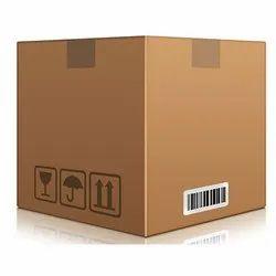 Brown Square Corrugated Carton Box