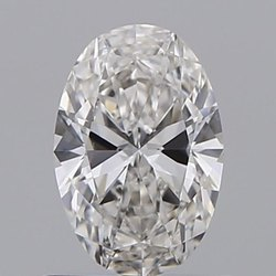 0.71ct Oval G VVS2 GIA Certified Natural Diamond
