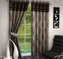 Brown and Beige living room  curtain