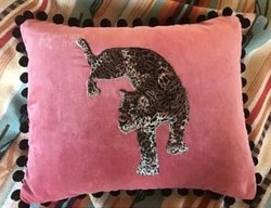 Handmade Velvet Patch Fancy Cushion Cover