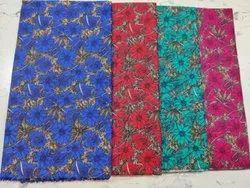Cotton Shailaja Floral Printed Nighty Fabric