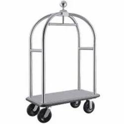 Bellboy Hotel Luggage Trolley