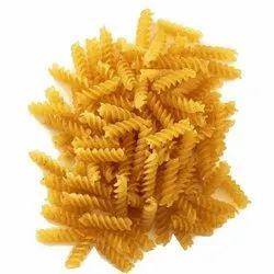 Yellow Durum Wheat fusilli Pasta, Packaging Type: Plastic Bag, Packaging Size: 20kg