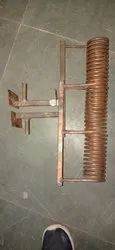 HT Copper Induction heating coil, Capacity: 50