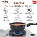 Rynox Ceramic Coated Black Non-Stick Sauce Pan