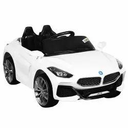 光纤12V Z4白色电池操作玩具汽车,蓝牙偏远,容量:1个孩子
