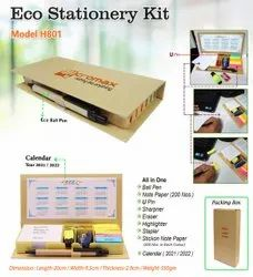 Brown color Eco Stationery Kit
