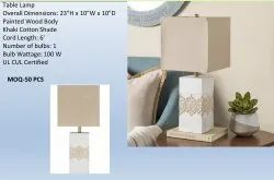 Wooden Table Lamp WTL-001