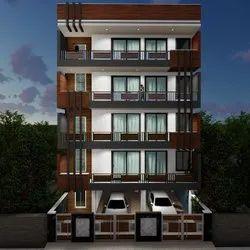 Apartment Interior Design Service, Work Provided: False Ceiling/POP