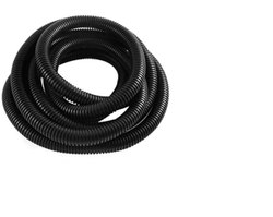 Black Single Walled Corrugated Pipe