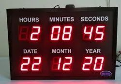 Date And Time Clock With GPS