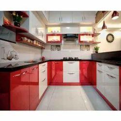U Shape Modular Kitchen