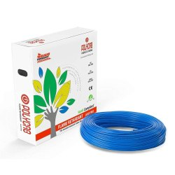 Flame Retardant Polycab House Wire Insulated Cable, 90m