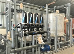Plastic Chemical Dosing Skid