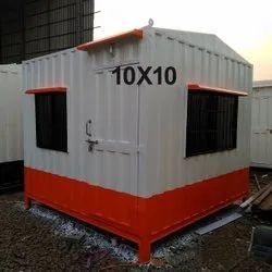 10X10 Feet Portable Security Guard Cabin