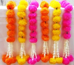 Marigold Artificial Flower Garland with Hanging