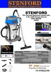 STENFORD 70L INDUSTRIAL VACCUM CLEANER  WET & DRY