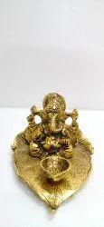 Anand Crafts Oxides Metal Ganesh Ji Statue