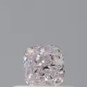 Cushion 0.32ct Very Light Pink VV1 GIA Certified Natural Diamond