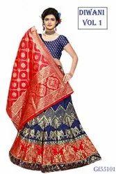 Banarasi Silk Wedding Wear Lehenga