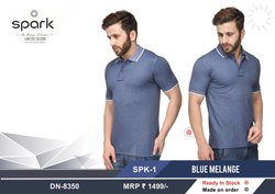 As Image Plain Premium Bio Washed Polo T Shirt