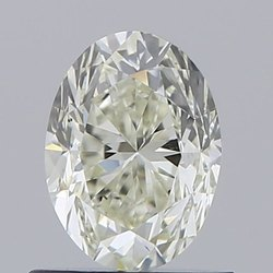 0.81ct Oval K VS2 GIA Certified Natural Diamond