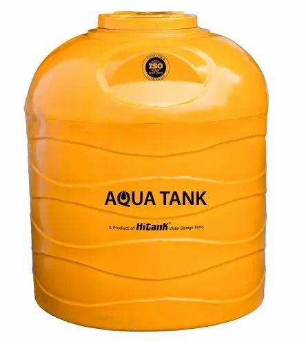 1500L Aqua Tank Yellow Water Storage Tank